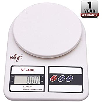 Generic Electronic Kitchen Digital Weighing Scale