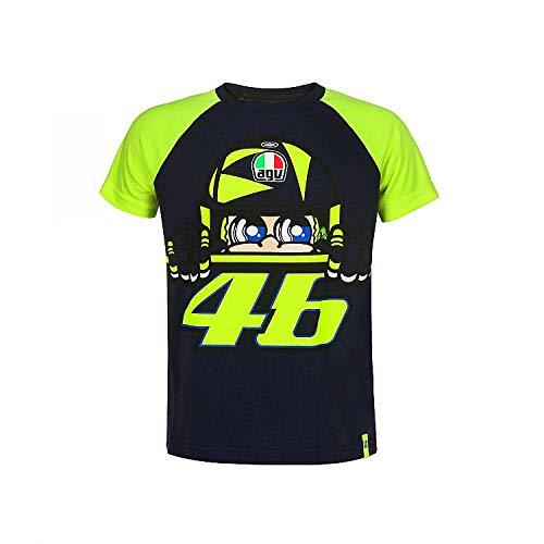 Valentino Rossi VRKTS353002002, T-Shirt Cupolino Bebé Unisex, Azul, 10/11 Años