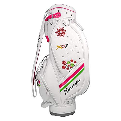 YUANZHOU Golf Cart Bag Wasserdichtes Material Und Trockentasche Für Lady White (Lady Bag Cart)