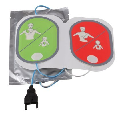 MEDIANA Ersatz-Hydrogel Kombi - Elektroden für Defibrillator HeartOn A15 für Erwachsene, Kinder und Kleinkinder