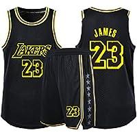 GBYN Kobe # 24 Lakers Jersey, Traje de Entrenamiento de Baloncesto Suelto y Transpirable, Adecuado para Trajes de Jersey para jóvenes, Hombres y Mujeres.-23-S