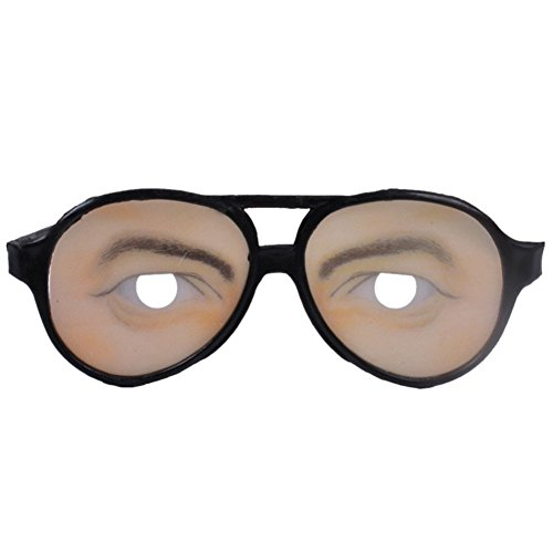 LAEMILIA Scherzbrille Halloween Spielzeug Brillen Kostüm Zubehör Party Accessoire Dekoration (Mann)