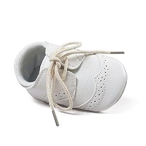 bautismos: Bebé Niñas Niños Blanco Bautizo Bautismo Ablución Boda Fiesta Zapatos 6-12 Meses