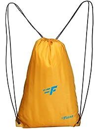 F Gear String 11 Ltrs Nylon Yellow Gym Bag