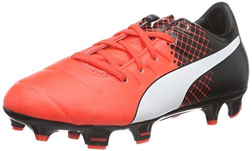 Puma Unisex-Kinder Evopower 3.3 Tricks Fg Jr Fußballschuhe Red (Red/Wht/Blk)