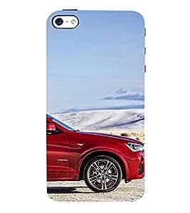 Stylish Car 3D Hard Polycarbonate Designer Back Case Cover for Apple iPhone 4