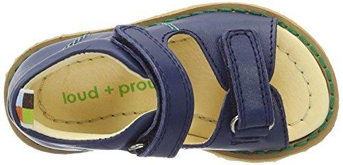 Loud + Proud Sandalen, Sandales  Bout ouvert mixte enfant Blau (Ultramarin)