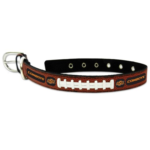 Fußball Cowboy-kragen (GameWear NCAA Oklahoma State Cowboys Halsband Classic Leder Fußball, unisex, CLC-CFB-OKC-M, mehrfarbig, M)