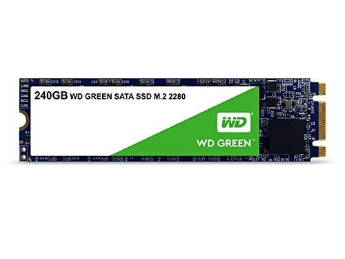 Western Digital WDS240G2G0B WD Green 240GB Internal SSD M.2 SATA