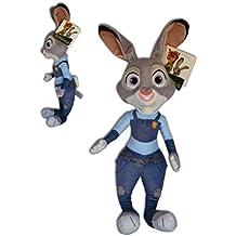 Zootropolis - Peluche Judy Hopps coneja policia 35cm calidad super soft - La conejita