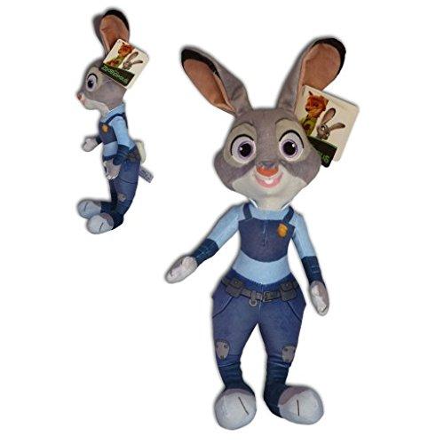 Zootopia - Peluche Judy Hopps coniglietta poliziotta 35cm Qualità super soft - Coniglia