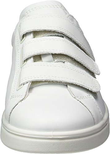 Ecco Soft 4, Sneakers Femme Weiß (50524WHITE/BLACK/WHITE)