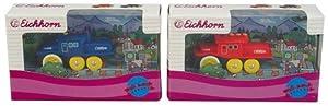 Eichhorn 100001048 - Locomotora Wheeler, Colores Variados (Simba Dickie)