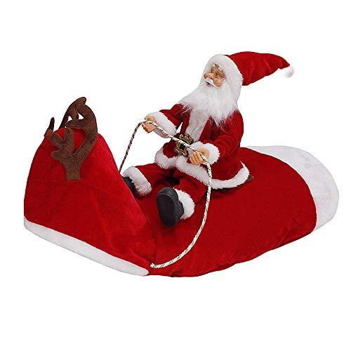 Themen Lustige Kostüm Familien - VKTY Weihnachtsmannkostüm für Hunde, Weihnachtsmannkostüm, für Hunde, Party, Cosplay, Weihnachtsmann auf Rentier Kleidung für Haustiere, Größe S