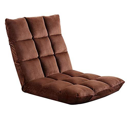 gaeruite Faule Couch-Sofa-Bett-Stuhl-Kissen, einzelner faltender Dicker gefüllter Tatami Kleiner...