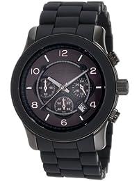 Michael Kors MK8148 - Reloj con correa de caucho para hombre, multicolor