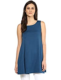 Remanika Blue color Cotton Tunic for womens