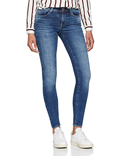 ONLY NOS Damen Skinny Onlshape Reg SK Dnm Jeans REA4488 Noos, Blau (Dark Blue Denim), W32/L32 Dark Blue Denim