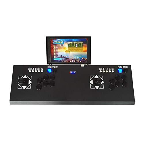 Oshide Arcade Game Machine 3D Videospiele Klassiker Doppelspieler 10-Zoll-LCD-Bildschirm HD und 2177 Klassische Spiele in der Maschine TV Konsole Spielkonsole (Hd-lcd-bildschirm)