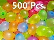Jiada Non Toxic Holi Water Balloons Multicolor (Pack of 500)
