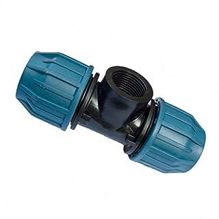 PE Rohr Verschraubung T-Stück 25 mm x 3/4