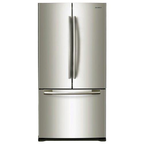 Samsung RF62QEPN French Door / A+ / 177.20 cm Höhe / 390 kWh/Jahr / 332 L Kühlteil / 118 L Gefrierteil / No Frost / Umluftkühlung / silber