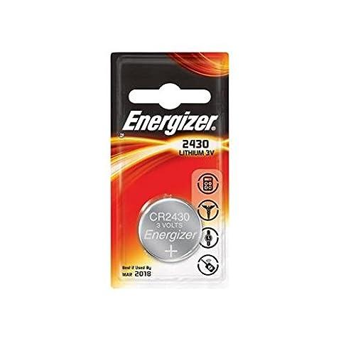 ENERGIZER Lot de 10 Blisters de 1 pile lithium calculatrices/photo CR 2430 3V