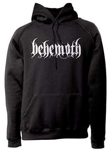 LaMAGLIERIA Unisex-Hoodie Behemoth 01 - Kapuzenpullover Black Metal Band, L, Schwarz