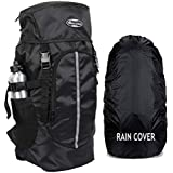 POLESTAR Hike BLK Rucksack with RAIN Cover/Trekking/Hiking BAGPACK/Backpack Bag