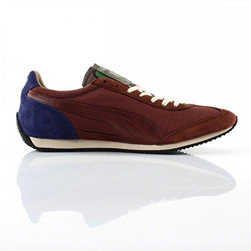 Puma Herren-Schuhe Mode-SF77 Luxe Camo Braun - braun