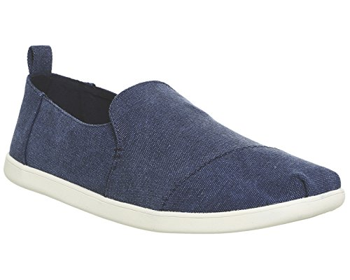 Deconstructed Alpargata Schuhe navy washed canvas