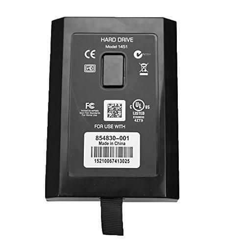 60GB Interna Slim Disco duro para Xbox 360 negro