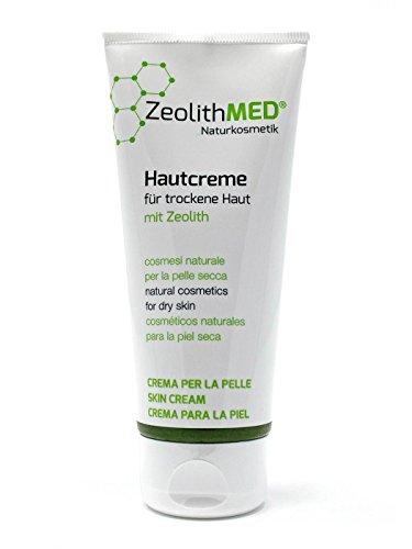 Zeolith MED Hautcreme für trockene Haut 100ml, Naturkosmetik, ohne Parabene, ohne Parfum
