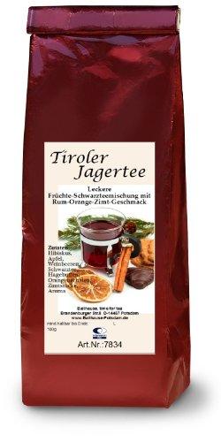 Tiroler Jagertee, 100g Früchte- und Schwarzteemischung, Wintertee