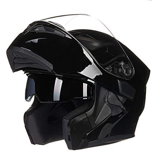 Preisvergleich Produktbild Männer Professionelle Flip Up Motorradhelme Doppel Objektiv Anti Fog Frauen Voller Schutz Motorrad Helm Komfort Sicherheit Mountainbike Motocross Sicherheitskappen