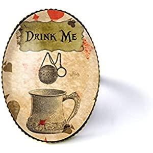 Ring mit Cabochon ° Drink Me °