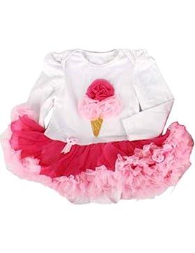 Für 0-12 Baby-Kleidung,Amlaiworld Baby Mädchen Strampler Tutu Kleid Sets Outfits Kleidung Body