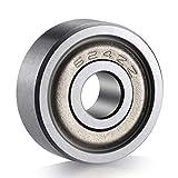 Ancirs 20-pack 624zz Roulement à billes–624ZZ Métal blindé miniature Deep Groove Roulements à billes (13mm X 4mm x 5mm)