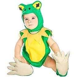My Other Me Me-203943 Disfraz de ranita unisex 1-2 años Viving Costumes 203943