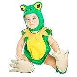 My Other Me Me-203943 Disfraz de Ranita Unisex, 1-2 años (Viving Costumes 203943)