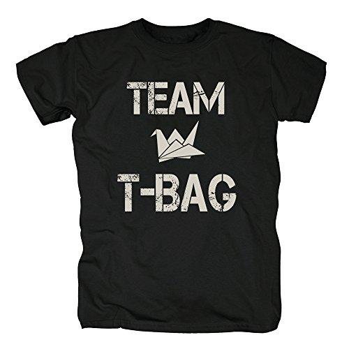 TSP Team T-Bag T-Shirt Herren Black