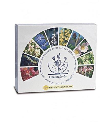 Healing Herbs Bachblüten Set Holzbox, 1er Pack (1 x 400 ml)