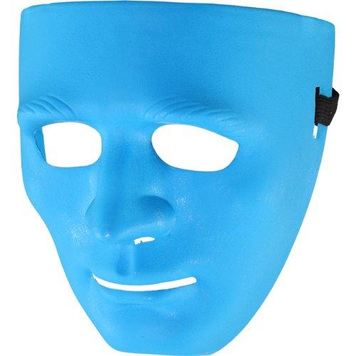 Kostüm Verwandte Trinken - PARTY DISCOUNT NEU Maske Blue Face