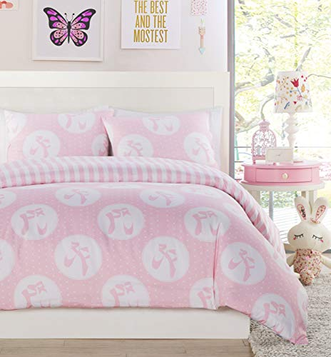 Lala + Bash Plie Non-Down Comforters - Twin, Pink