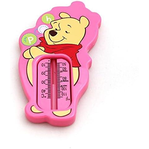 Winnie the Pooh termómetro de baño (color rosa)–para bebé Baño Seguridad