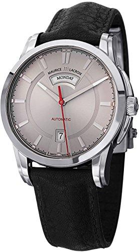 montre-maurice-lacroix-pontos-day-date-acier-inoxydable-gris-pt6158-ss001-231