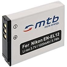 Batteria EN-EL12 per Nikon Coolpix S9100, S9200, S9300, S9400, S9500...+ vedi lista!