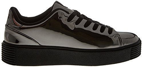 MTNG Damen Templo Sneakers Silber (Metal Plata Vieja)