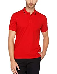 Stop Mens Solid Polo T-shirt