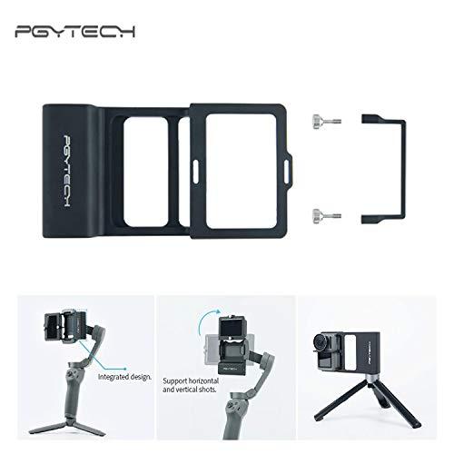 PGYTECH Gopro Gimbal Adapter Montageplatte Handheld Kamera Stabilisator Adapter für Gopro Hero 7 6 5 DJI OSMO Mobile 3 2 Zhiyun Smooth 4